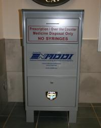 Operation Medicine Drop - white drop box